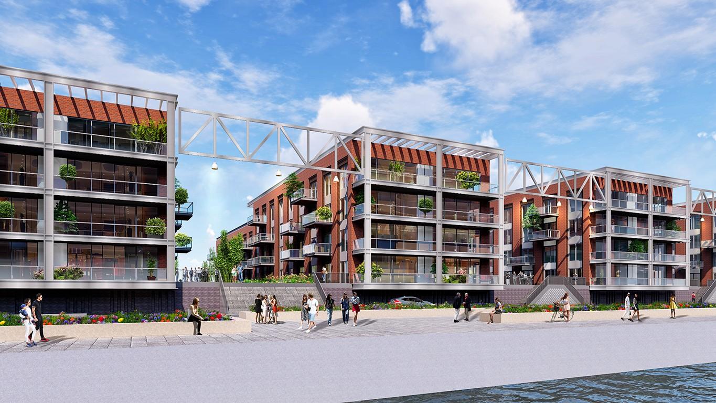 Mercon Kloos ontwikkeling Alblasserdam Kinderdijk